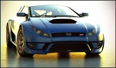 Subaru WRX STI Concept: el Lamborghini Countach del año 2012