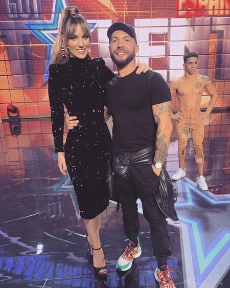 El vestido que Edurne llevó a Got Talent anoche es a medida, pero estos dos de Zara son casi idénticos