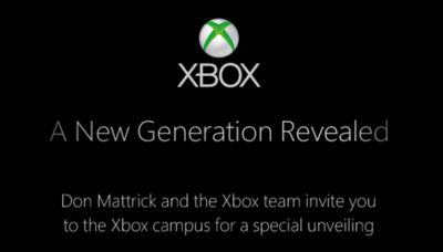 Microsoft envia invitaciones para presentar la nueva generación de Xbox