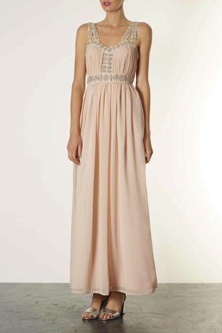 vestido largo topshop