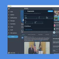 Ya puedes programar tweets y guardar borradores desde la web