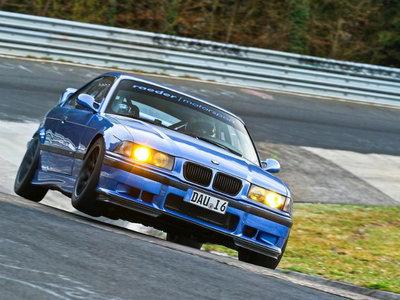 El BMW M3 E36 más rápido de Nürburgring rueda en 7:31 minutos para este vídeo