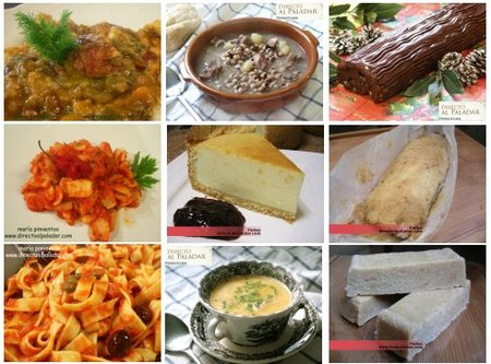 El Menú Semanal en Directo al Paladar, la recta final de diciembre