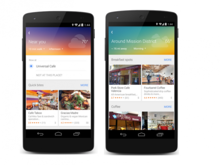 Google Maps presenta su disponibilidad explorar