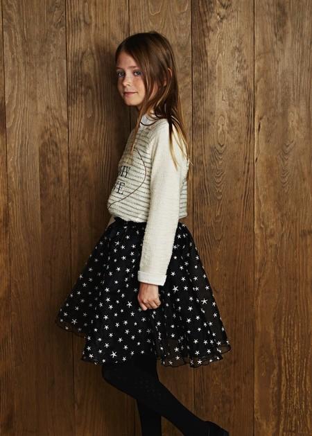 Falda Estrellas Para Nina