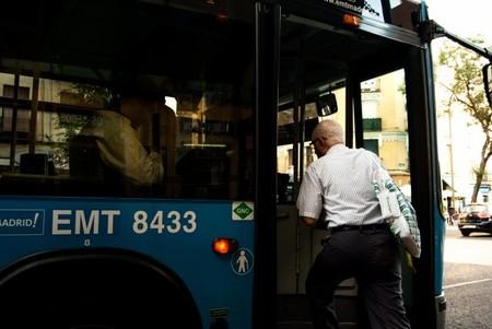 Autobus en Madrid