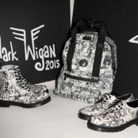 La bota Core Print Pascal People de Dr. Martens x Mark Wigan