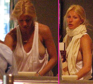 Gwyneth Paltrow deberías ponerte un sujetador en condiciones