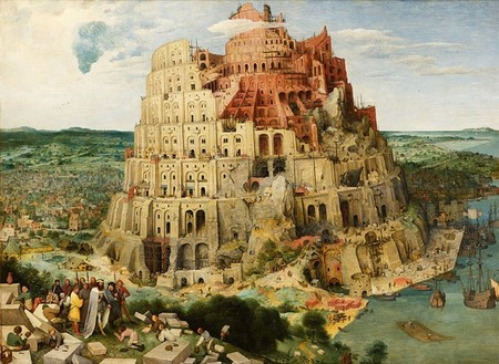 Babylon Tower, una mesa inspirada en la pintura 'La torre de Babel' de Brueghel