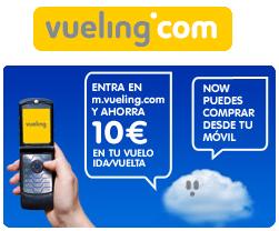 Vueling permite comprar billetes a través del móvil y ahorrarte 10€