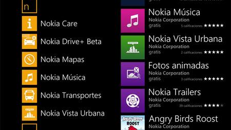 Aplicaciones exclusivas de Nokia