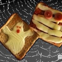 Receta de Halloween. Pan de fantasma y pan de momia