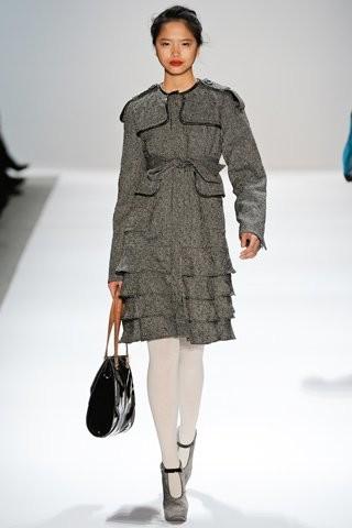 Nanette Lepore en la semana de la moda de Nueva York