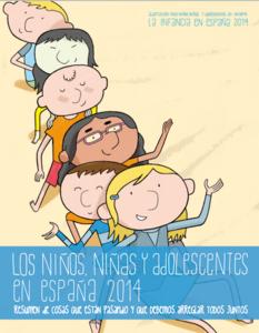 Porque ellos también deben entenderla, versión para niños del informe sobre pobreza infantil en España