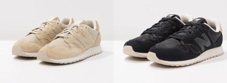60% de descuento en las zapatillas New Balance WL520 en negro y beige: ahora cuestan sólo 39,95 euros en Zalando