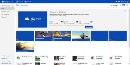 Microsoft lanza OneDrive con nuevas características y opciones de ampliación de espacio