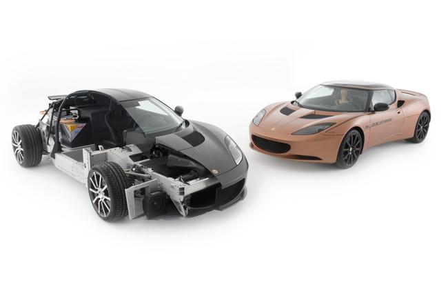 Lotus Evora hibrido carrocería