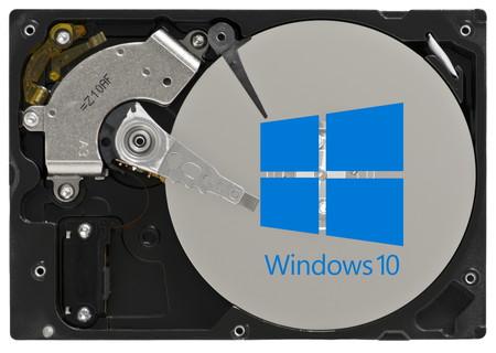Microsoft incluirá una nueva herramienta de administración de discos duros en la Configuración de Windows 10