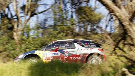 Sébastien Loeb y Citroën dominan la primera jornada en el Rally de Nueva Zelanda