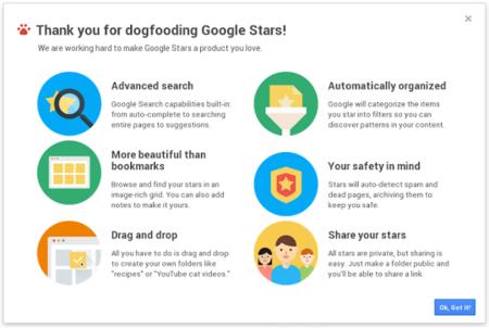 Así es Stars: un vídeo filtrado nos muestra la nueva apuesta de Google para gestionar favoritos