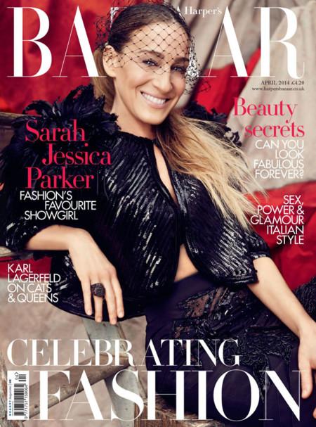 Sarah Jessica Parker Harpers Bazaar 2014