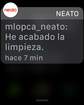 Notificacion Neato