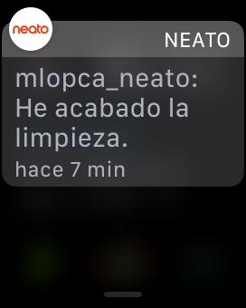 Notificacion Neato