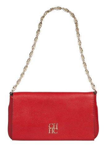 Bolso rojo de Carolina Herrera de la colección primavera-verano 2011