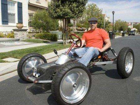 Z-Kart, un eléctrico hecho en casa