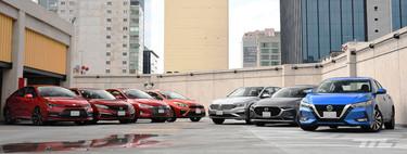 Comparativa: el duelo definitivo de los siete sedanes compactos a la venta en México
