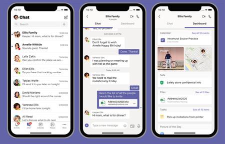 Microsoft quiere que Teams salga de la empresa y se convierta en una app para hablar con familia y amigos