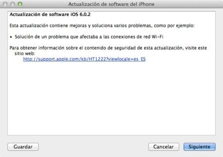 Adiós al problema de la conexión a redes Wifi: iOS 6.0.2 ya está disponible
