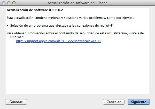ios 6.0.2 apple