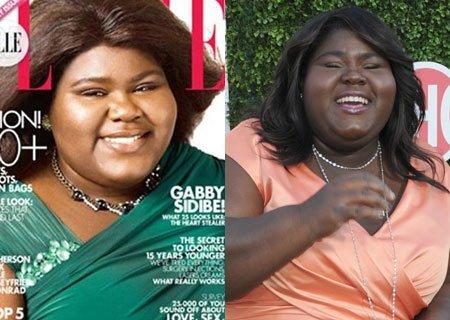 Gabourey Sidibe portada de Elle: la polémica está en la calle