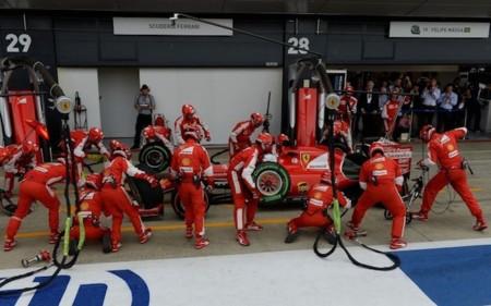Pit Stop Ferrari