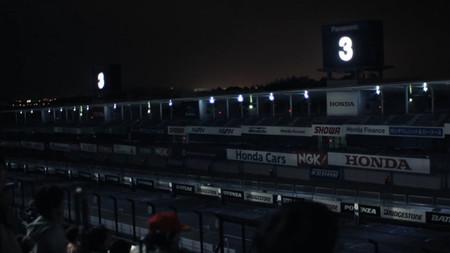 Honda revive una vuelta legendaria de Ayrton Senna en Suzuka con un montaje de luz y sonido