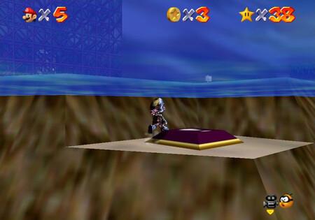 Super Mario 64: cómo conseguir la estrella Metal-Head Mario Can Move de Hazy Maze Cave