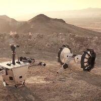 """El último rover de la NASA se """"parte en dos"""" para explorar las áreas más difíciles"""