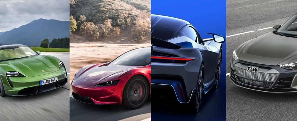 Los 17 coches eléctricos más rápidos y potentes: hasta 2.000 CV y velocidades por encima de los 340 km/h