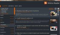 Mishra Reader, lector RSS con interfaz Metro que se sincroniza con Google Reader