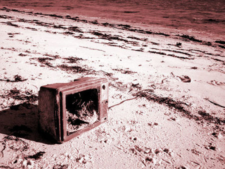 TV abandoned