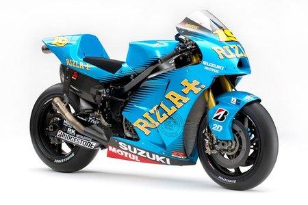 Así es la nueva Suzuki GSV-R del Rizla MotoGP
