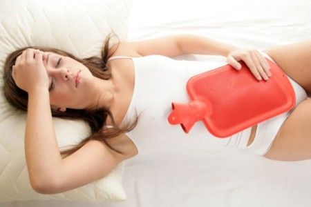 Woman With Period Pain