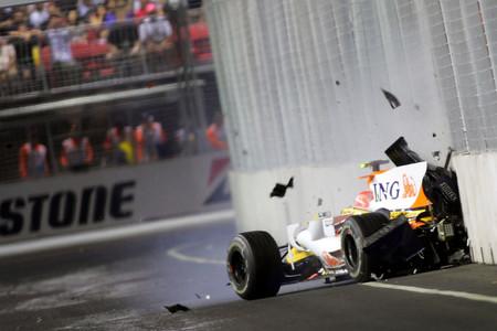 Piquet Singapur F1 2008