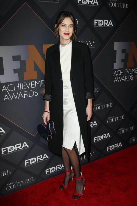 Alexa Chung Fn Achievement Awards 2015 2