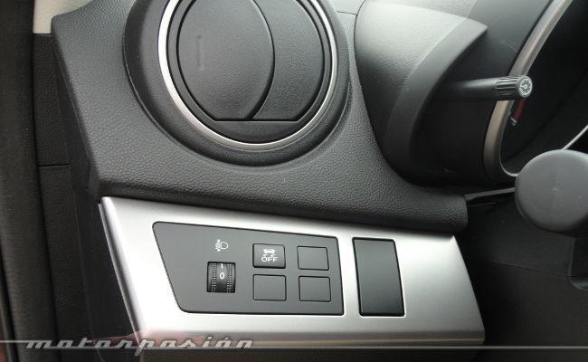 Mazda3 1.6 CRTD 115 cv, detalle interior