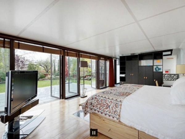 Dormitorio de Gerard Depardieu