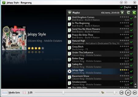Bangarang un nuevo reproductor multimedia para entornos KDE
