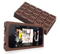 Una tableta de chocolate para el iPhone