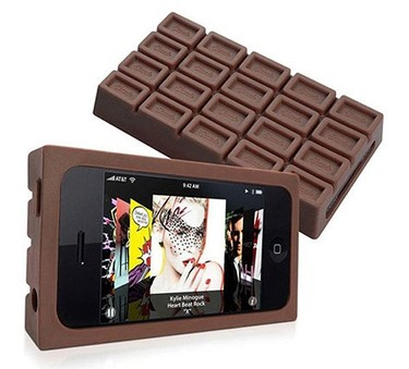 Una tableta de chocolate para el iPhone
